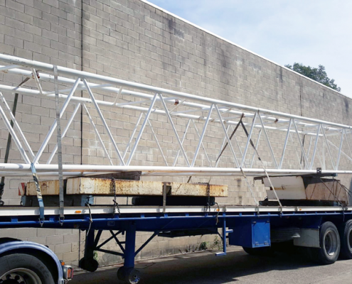 Forrest Logistics - What are the most common loads on flat top trailers?