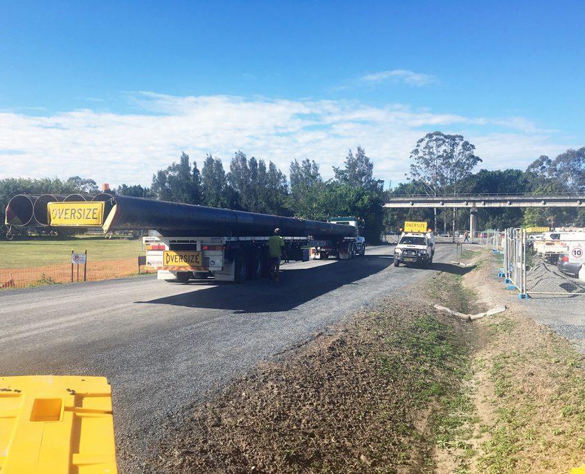 Forrest Logistics - Steel transport