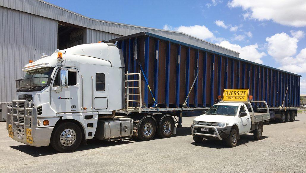 Forrest Logistics - Oversize transport services