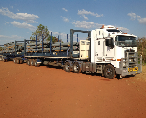 Forrest Logistics - What is a road train dolly?